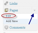 How to Edit a Page in WordPress, Text and Visual Guide Directions